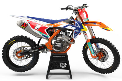 KTM Factory crossdekaler