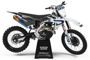 husqvarna blow blue crossdekaler