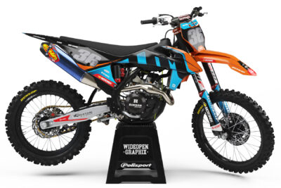 KTM Fushion Blue crossdekaler dekalkit