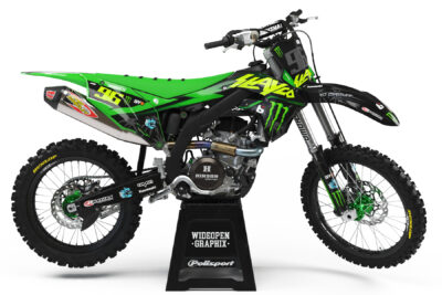 Kawasaki axell hodges Graphics crossdekaler