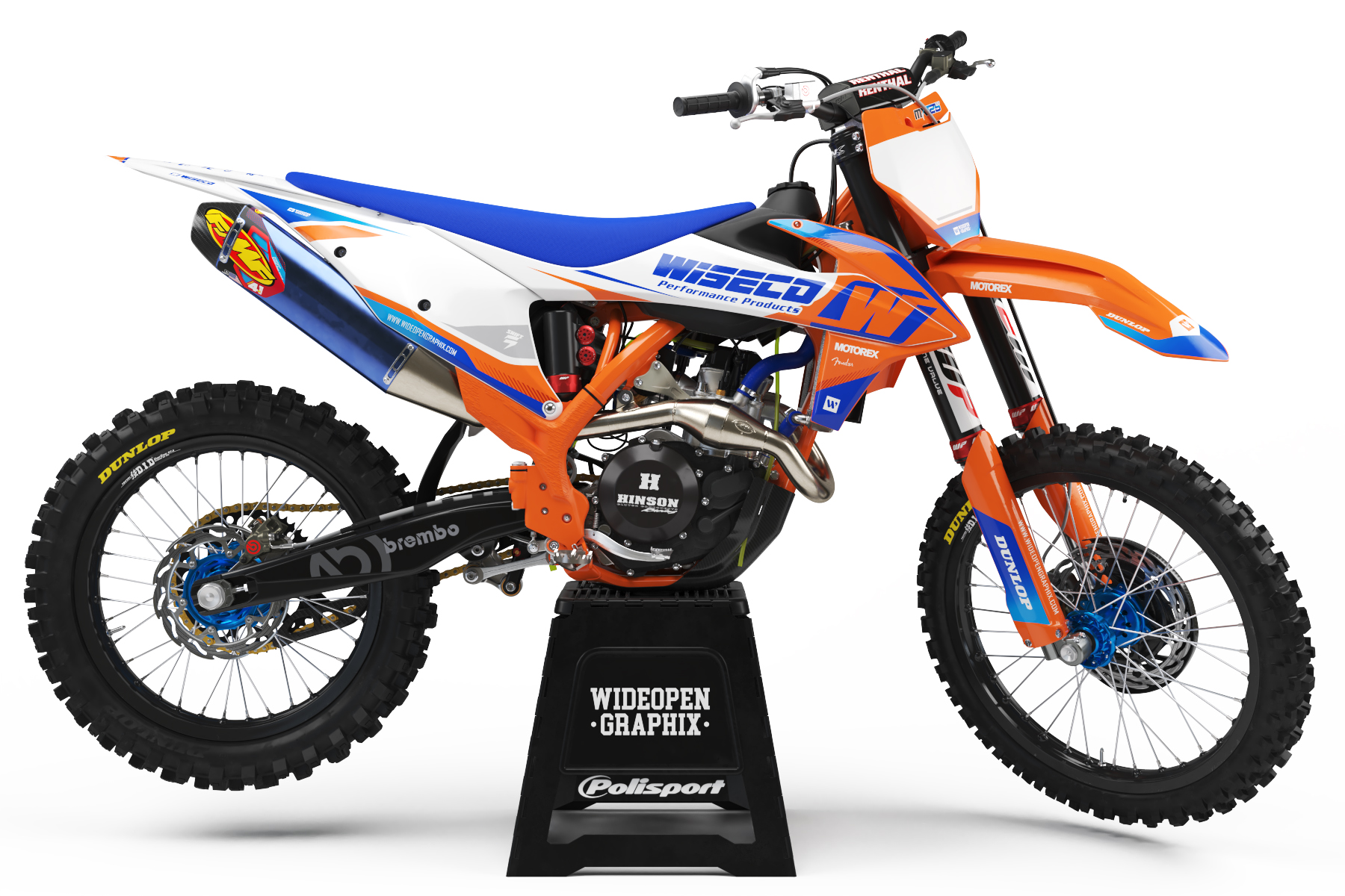 KTM Wave Motocross graphics Crossdekaler