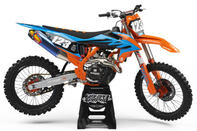 KTM Signature Orange/Blue