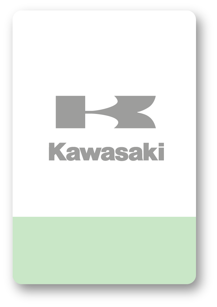Kawasaki icon crossdekaler