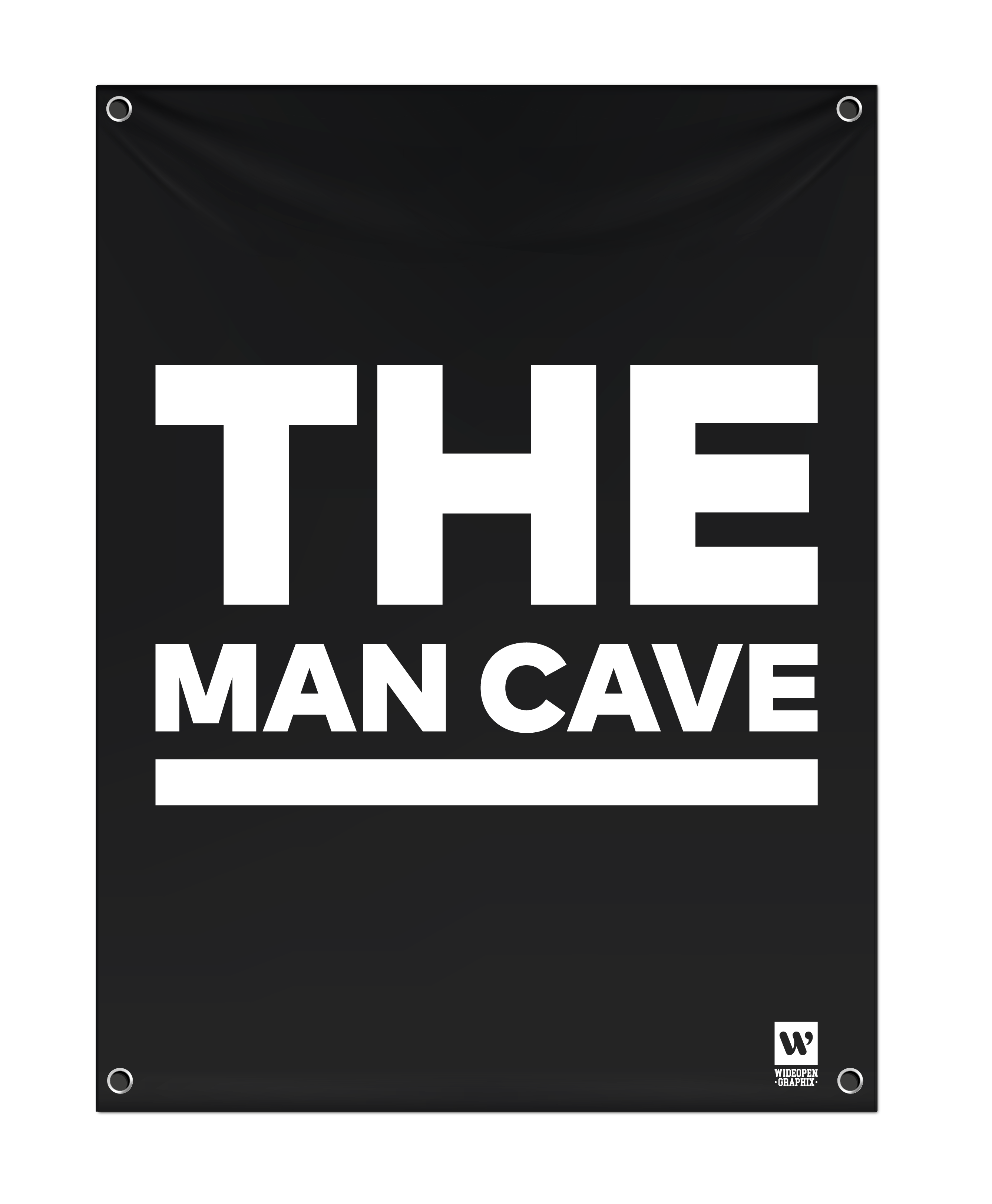 Banderoll the man cave