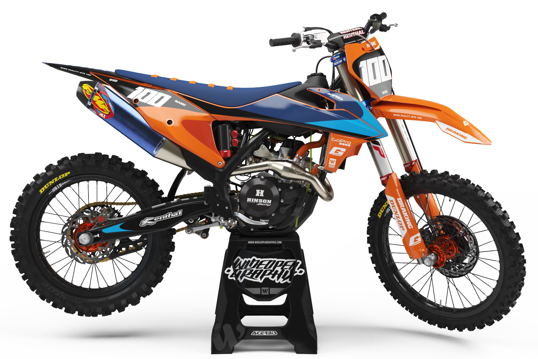 KTM Prodigy - Orange Dekalkit