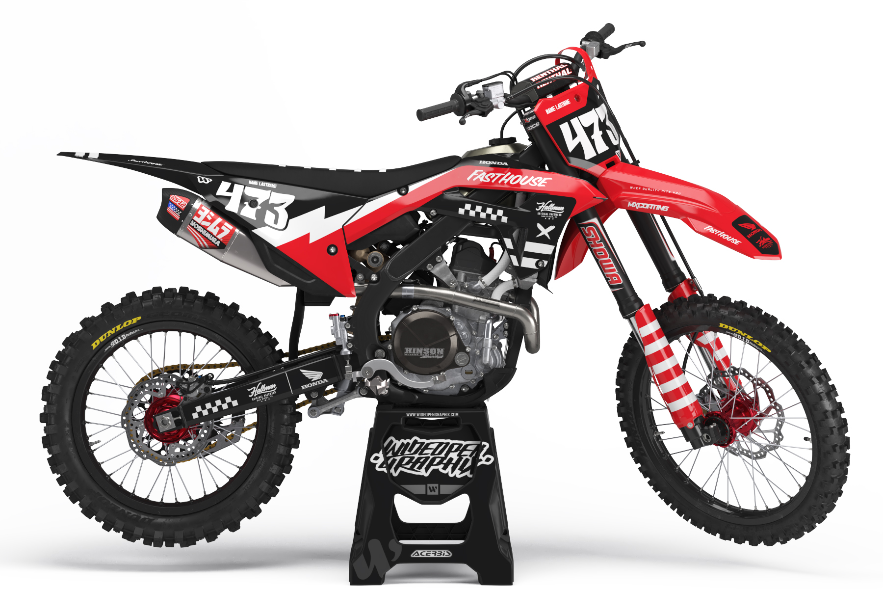 Honda crf Checker