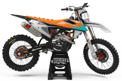 KTM Prodigy Orange / Gray Morocross graphics